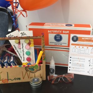 kids party packages activity box